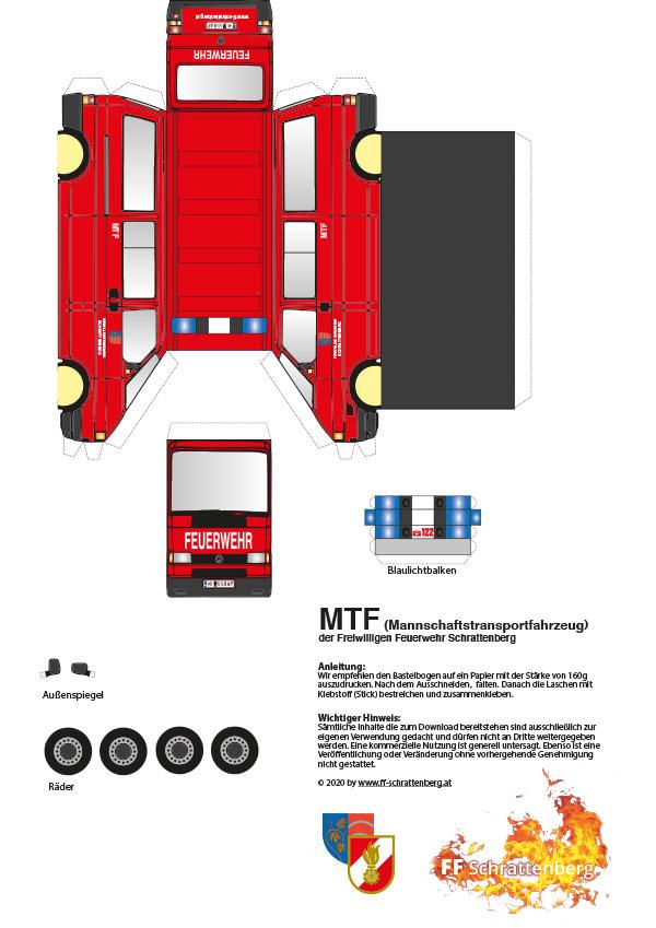 Bastelbogen MTF